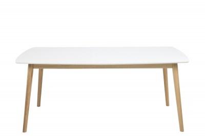 Étkezőasztal Naiara 180 cm fehér tölgy