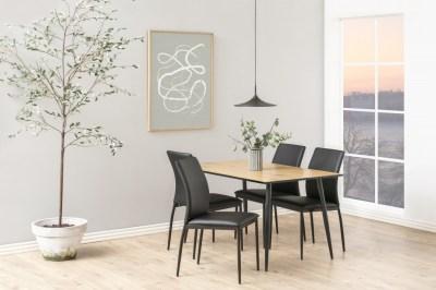 Étkezőasztal Nayeli 120 cm vad tölgy