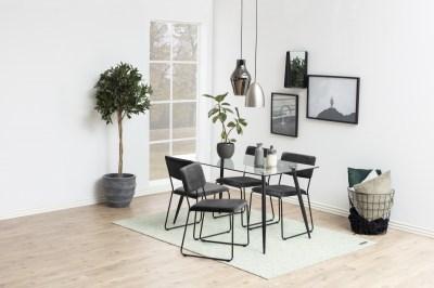 Étkezőasztal Nayeli 140 cm üveg