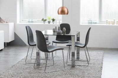 Étkezőasztal Nefertari 90 cm üveg