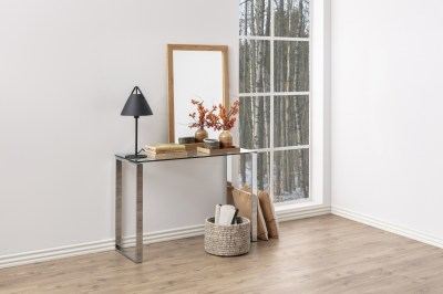 Konzol asztal Nefertiti 110 cm üveg