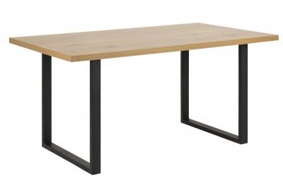 Étkezőasztal Niki 160 cm vad tölgy - U lábak
