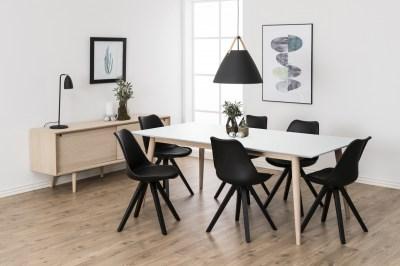 Étkezőasztal széthúzható Nadia 200/300 cm fehér