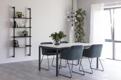 Étkezőasztal bővíthető Nahia 160/210 cm fehér