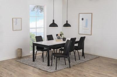 Étkezőasztal széthúzható Nico 215/315 cm fehér
