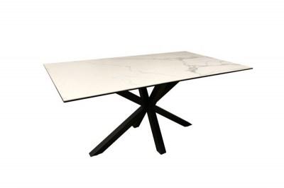 Kerámia étkezőasztal Neele 160 cm fehér