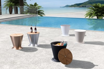 Kerti asztal HIGOLD - ICOO Black