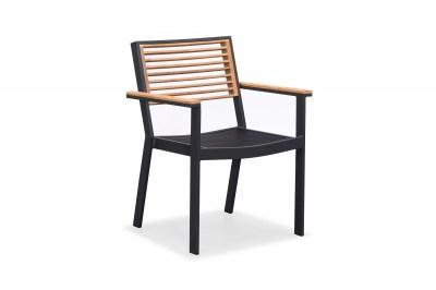 Kerti étkező szék HIGOLD - York Dining Arm Chair Black/Black