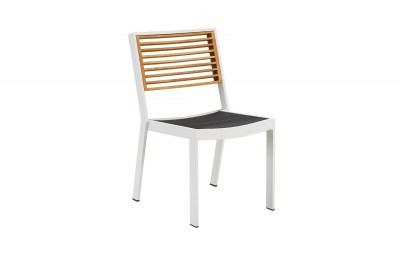 Kerti étkező szék HIGOLD - York Dining Chair White/Black