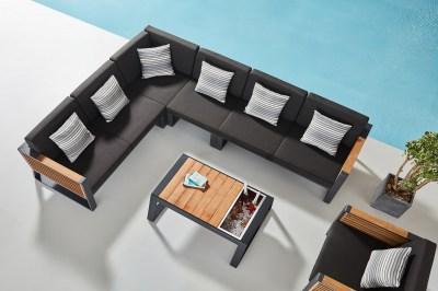 Kerti szett HIGOLD - New York Corner Lounge Olefin