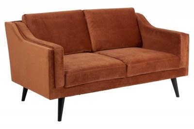 Kétszemélyes kanapé Isis 151 cm réz