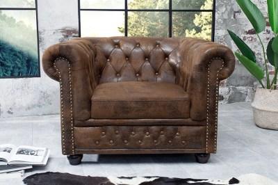 Luxus vintage fotel Chesterfield