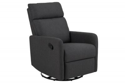 Luxus relax fotel Nordica, szürke