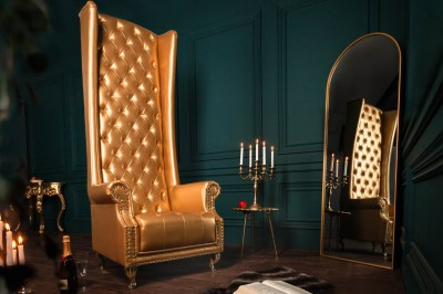 Luxus fotel Sylas arany