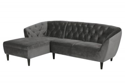 Luxus ülőgarnitúra Nyree 222 cm balos - sötét szürke