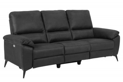 Luxus hármas fotel Nydia - szürke