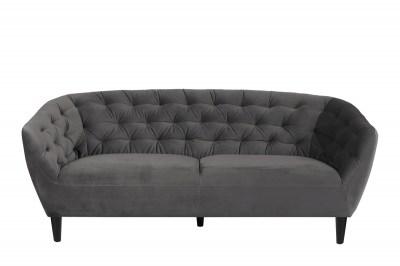 Stílusos kanapé Nyree sötét szürke