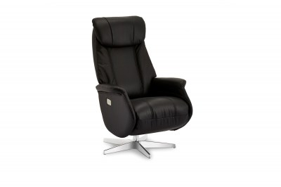 Luxus relax fotel Abdirahman fekete