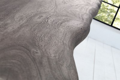 Luxusný jedálenský stôl z masívu Massive 200 cm / akácia -sivá