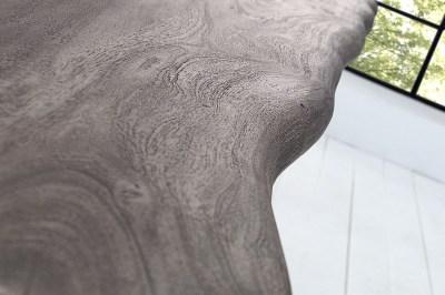 Luxusný jedálenský stôl z masívu Massive 240 cm / akácia-sivá