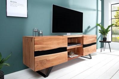Luxus TV asztal Argentinas masszív fából