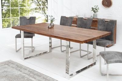 Luxus étkezőasztal Flame 160 cm masszív