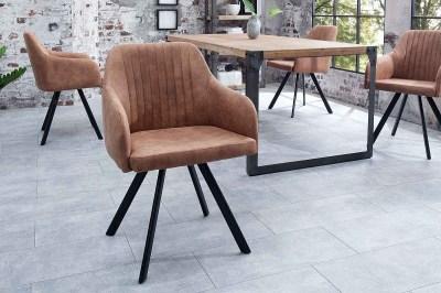 Stílusos szék Mallory vintage barna