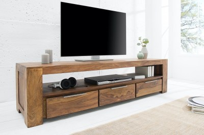 Luxus TV asztal Timber masszív 170 cm