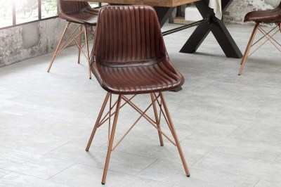 Stílusos szék Audrina barna