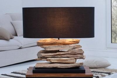 Asztali lámpa Corey fekete