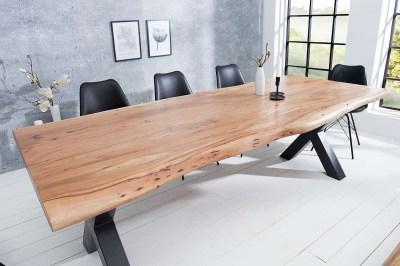 Luxus étkezőasztal Massive X 240 cm akác