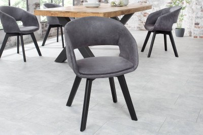 Stílusos szék Colby antik szürke