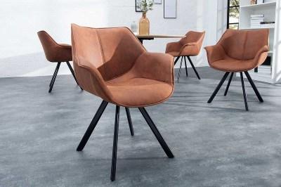Stílusos szék Brantley antik barna