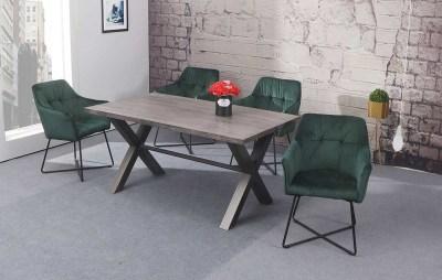 Stílusos szék Giuliana zöld