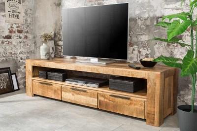 Stílusos TV asztal Thunder 170 cm mangó