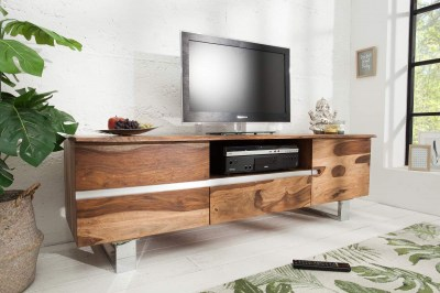 Luxus TV asztal Massive S 160 cm sheesham