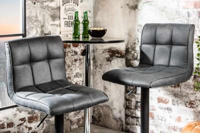 Stílusos bár szék Modern vintage szürke