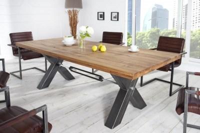 Stílusos étkezőasztal Thunder, 240 cm, vad olajozott tölgy