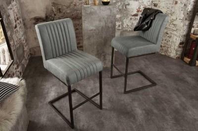 Stílusos bár szék Boss, antik szürke