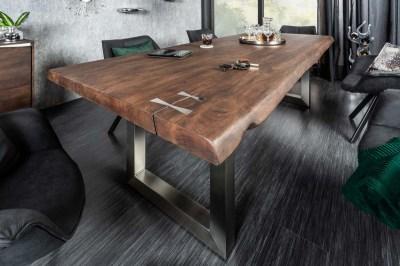 Stílusos étkezőasztal Massive Artwork 240 cm akácia
