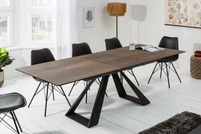 Meghosszabízható étkezőasztal Kody 180-230 kerámia - tölgy minta