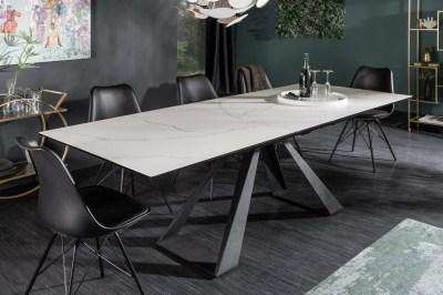 Meghosszabízható étkezőasztal Kody 180-230 kerámia - márvány minta