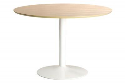 Kerek étkezőasztal Neesha 110 cm tölgy