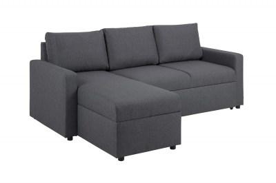 Sarok ágyazható kanapé Amadeus 218 cm - szürke