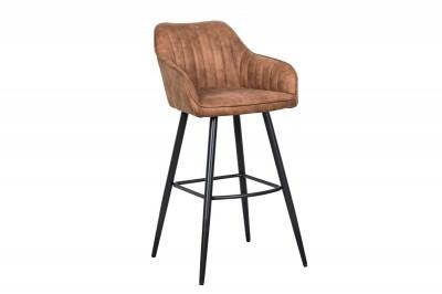 Stílusos bár szék Esmeralda vintage barna