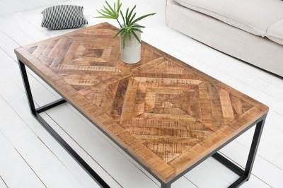 Stílusos dohányzóasztal Allen Home 100 cm mangó