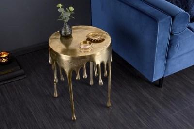 Stílusos dohányzóasztal Gwendolyn 51 cm arany