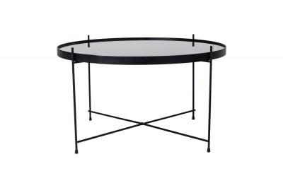Stílusos dohányzóasztal Tatum 70 cm fekete