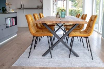 Stílusos étkező asztal Jonathon 200 cm natúr tölgy
