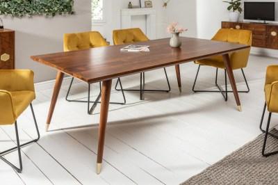 Stílusos étkezőasztal Justice 200 cm akácia fa